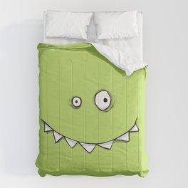 Happy Green Monster Comforters