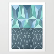 Nordic Combination 32 Art Print