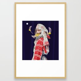 Superstar Framed Art Print