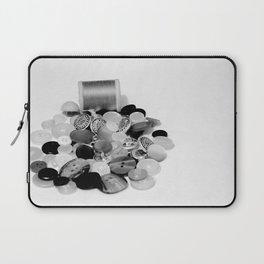 Buttons Laptop Sleeve