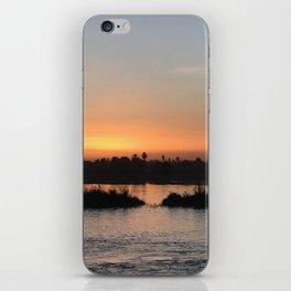 Nile at sunset iPhone Skin