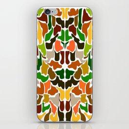 Autumn Camouflage iPhone Skin