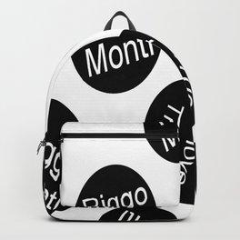 Riggo Monti  Design #10 - True to Love This (Wht. Bkgrnd.) Backpack