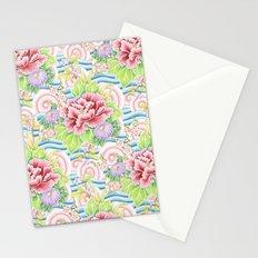 Pastel Kimono Bouquet Stationery Cards