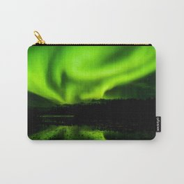 aurora borealis northern lights sky Carry-All Pouch
