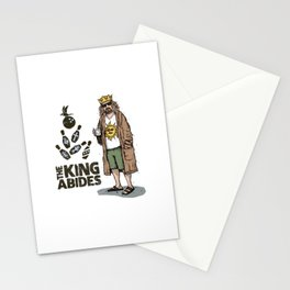 The King Abides Stationery Cards