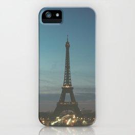 EIFFEL - TOWER - CITY OF PARIS iPhone Case