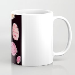 Circles (black/pink) Coffee Mug