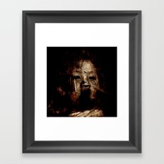 Born in a Burial Gown Framed Art Print