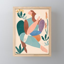 Becoming Framed Mini Art Print