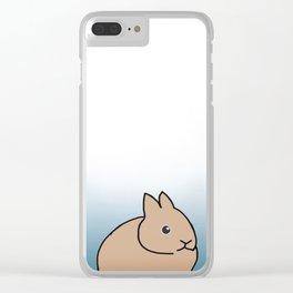 rabbit-6 Clear iPhone Case
