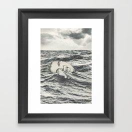 Going Under Framed Art Print