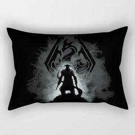 The Dovahkiin Rectangular Pillow