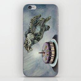 Turtle Birthday iPhone Skin