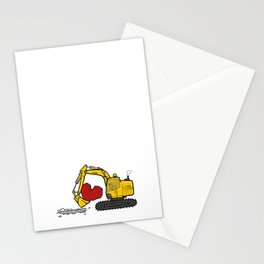 Heart Digger Stationery Cards