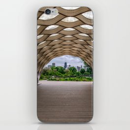 Chicago's Honeycomb in Lincoln Park iPhone Skin