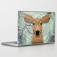 bambi Laptop & iPad Skins featuring Bambi by ArtLovePassion