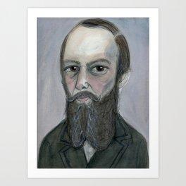 Notes from Dostoyevsky Art Print