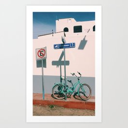 The Corner of Cabo Art Print