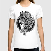 headdress T-shirts featuring Headdress by BIOWORKZ