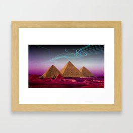 There's something out there Framed Art Print