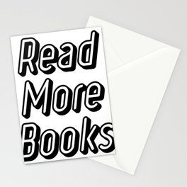 Reading Read More Books Teacher School Funny Gift Stationery Cards