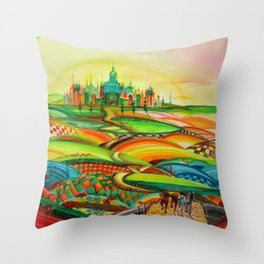"""""""Wizard from Oz"""" Throw Pillow"""