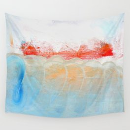 Over Snow Mountain Wall Tapestry