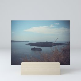 Santorini, Greece 15 Mini Art Print