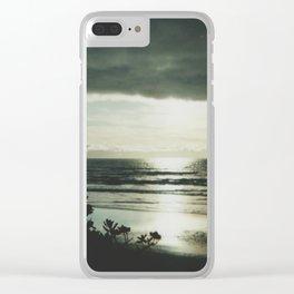 Beachtime Dusk Clear iPhone Case