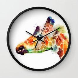 The Graceful - Giraffe Wall Clock
