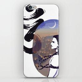 Mood Rising Sci-fi Ohm iPhone Skin