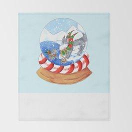 Polar Surprise Throw Blanket