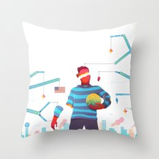 The Pioneers of Paterson Throw Pillow