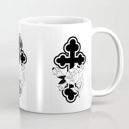 Rose and Cross Coffee Mug