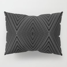 Diamonds (Black) Pillow Sham