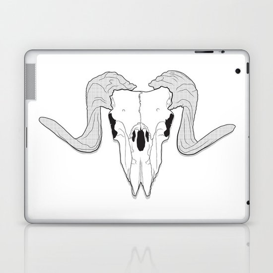 Ram Skull Laptop & iPad Skin