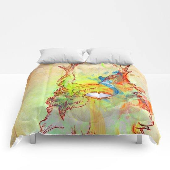 Turning Light Comforters