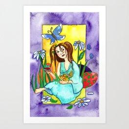 Easter Surprise Art Print