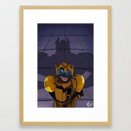 Busted Framed Art Print