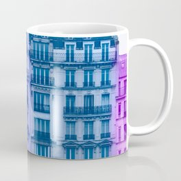 Colorful Paris Buildings Coffee Mug