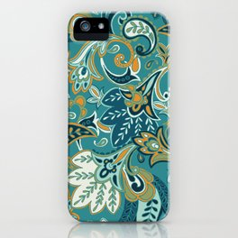 I Fall For Autumn Paisley - Everyday Colorway iPhone Case