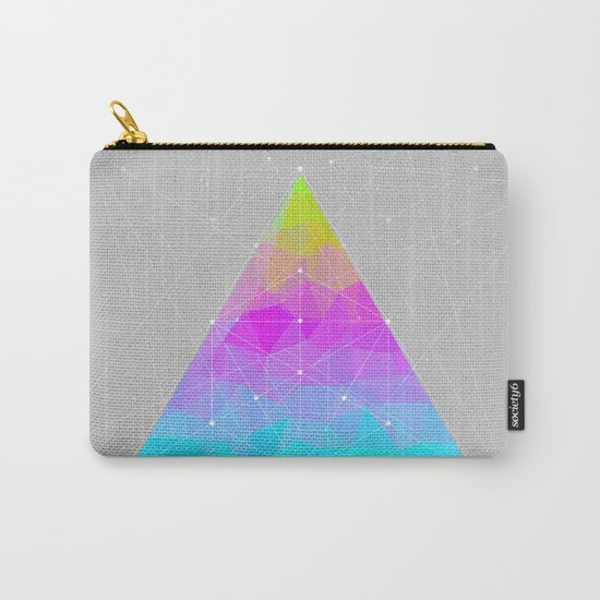 The Dots Will Somehow Connect (Geometric Pyramid) Carry-All Pouch