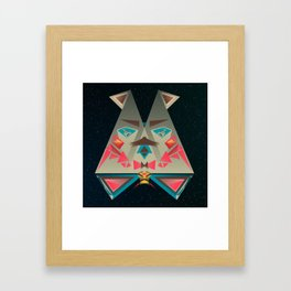 The Deliberate One Framed Art Print