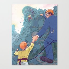 A Meaningful Job. Canvas Print