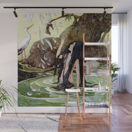 """""""The Marsh King's Daughter"""" by Hans Christian Andersen Wall Mural"""