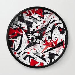 Constructivism Wall Clock