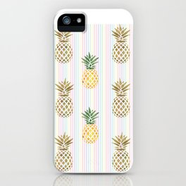 Be like a Pineapple Typography iPhone Case