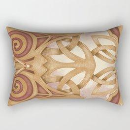 Raised by Mystics Rectangular Pillow