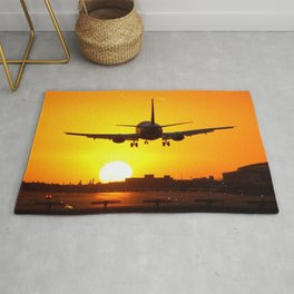Beautiful 737 Sunset Rug